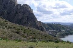 El Chorro z gory