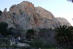 Sektor Castrojo widok na jaskinie