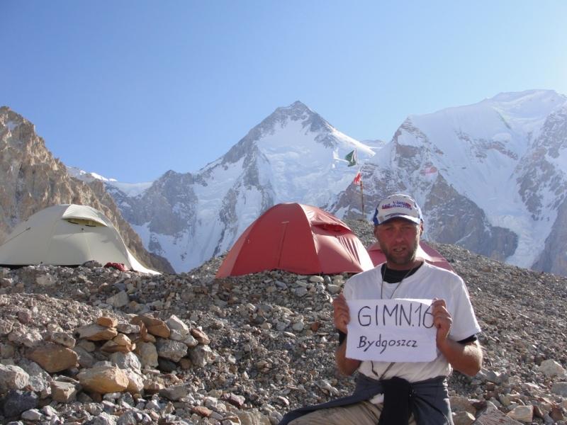 Dzien 39.Widok z bazy na Gasherbrum I