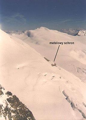 widok Johannis Berg 3453 m n.p.m.